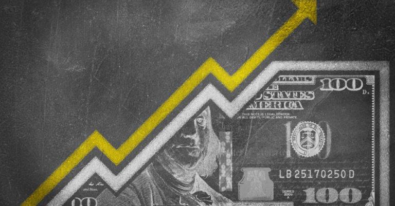 Procurement money graph going up