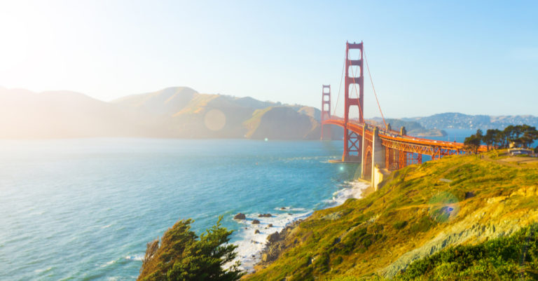 Dreamforce 2018 highlights represented by golden gate bridge