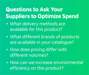 Questions For Suppliers Optimize Spend