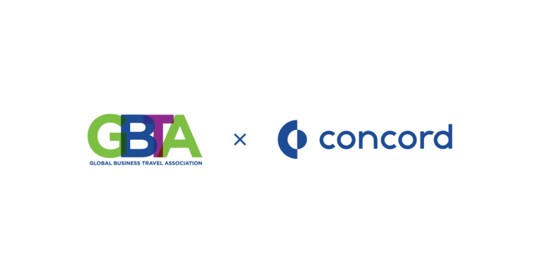 GBTA log and Concord CLM logo contract management software