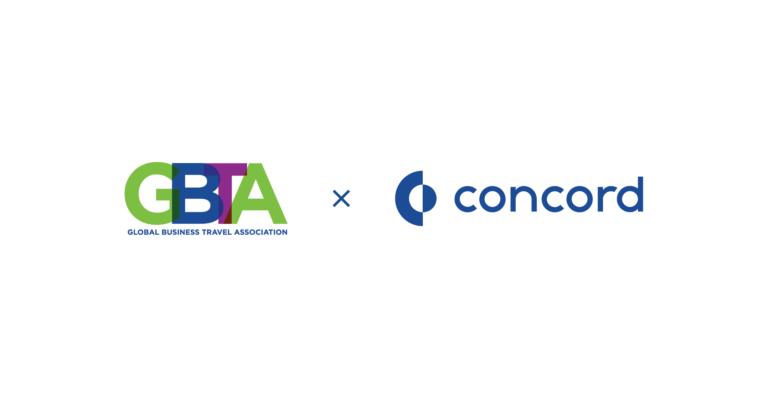GBTA log and Concord CLM logo contract management software