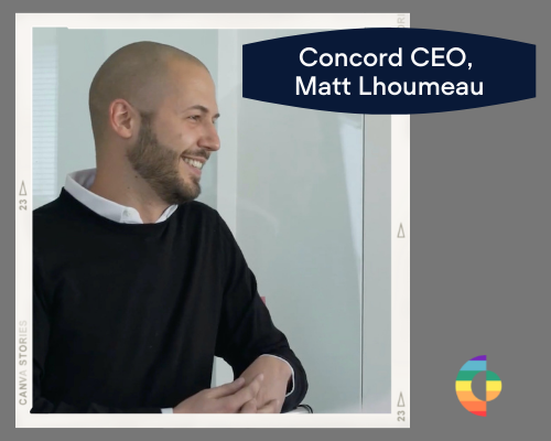 Concord CEO Matt Lhoumeau did an interview for this article on Inclusion and Diversity during Pride Month 2021.